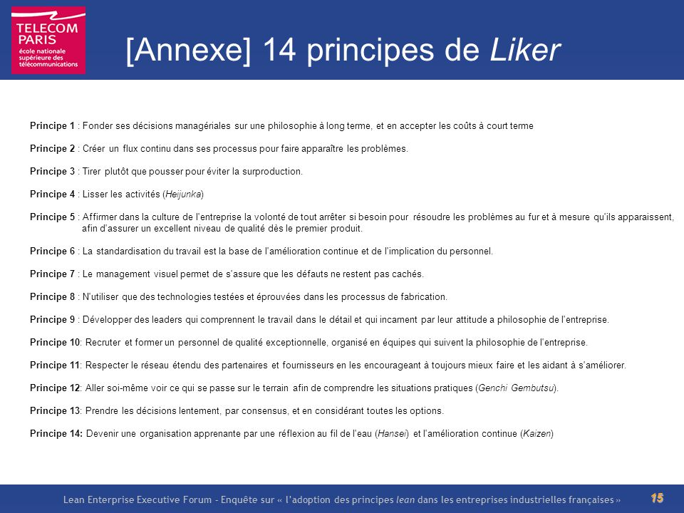 [Annexe] 14 principes de Liker